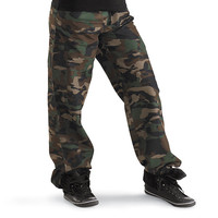 Camouflage Hip-Hop Pants; Urban Groove