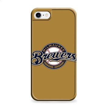 MILWAKEE BREWERS BASEBALL LOGO BROWN iPhone 6 | iPhone 6S case