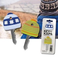 Kaps Cozy Key Covers Novelty Winter Caps Hat Organize