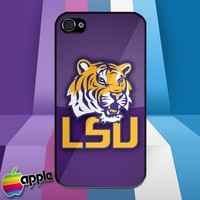 LSU Tigers NFL American Football Logo iPhone 4 or iPhone 4S Case