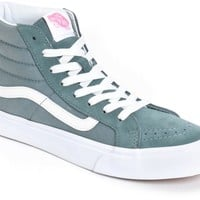 Vans Sk8 Hi Slim Stormy Weather Shoes (Womens)