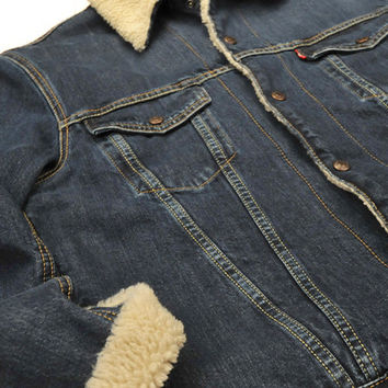 LEVI'S VINTAGE CLOTHING (LVC)-1967 Type III Sherpa Lined Trucker Jacket