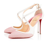 Crissos 100 Version Dolly Leather - Women Shoes - Christian Louboutin