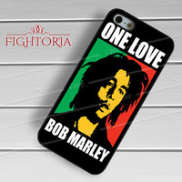 one love bob marley inspired-1nna for iPhone 4/4S/5/5S/5C/6/ 6+,samsung S3/S4/S5,S6 Regular,S6 edge,samsung note 3/4