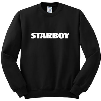 "The Weeknd ""Starboy"" Crewneck Sweatshirt"