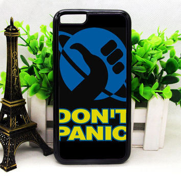 HITCHHIKER'S GUIDE TO THE GALAXY (DON'T PANIC) IPHONE 6   6 PLUS   6S   6S PLUS CASES