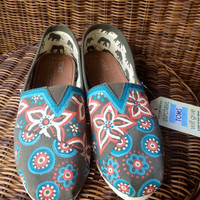 Hand painted toms by CEA