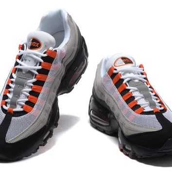 KUYOU Air Max 95 Blood Orange / Grey