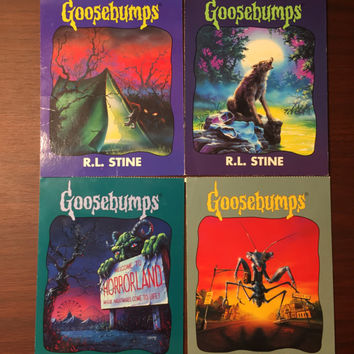 Goosebumps Postcards