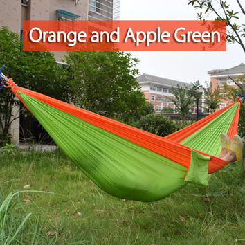 2016 Portable Double Parachute  hanging travel bed