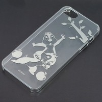 Disney's Chip'n Dale on a iPhone5 5s Clear Cover