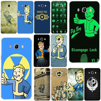 Soft Phone Case for Samsung Galaxy Note 2 3 4 5 8 S2 S3 S4 S5 Mini S6 S7 S8 S9 Edge Plus Fallout Vegas Pip Phonecases Vault Boy