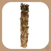 White Sage & Mugwort Smudge Stick