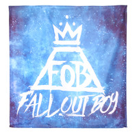 Fall Out Boy Crown Banner
