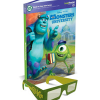 Monsters University 3-D Book