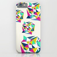 Geometric Worlds iPhone & iPod Case by Sandra Arduini