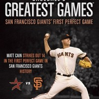 Baseball's Greatest Games: San Francisco Giants First Perfect Game [DVD]