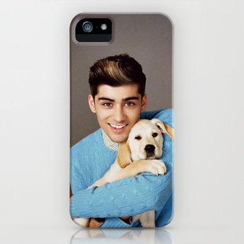Zayn Malik One Direction Labrador Retriever Puppy iPhone Case by Toni Miller | Society6