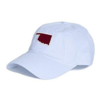 OK Norman Gameday Hat in White by State Traditions