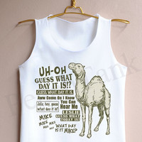 Guess What Day It Is Hump Day - Tank Top , Tank , Cute Tank Top , Hump Day Tank Top , Guess Tank Top