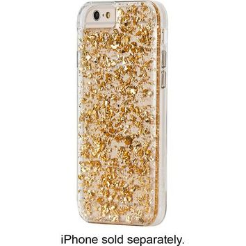 Case-Mate - Karat Case for Apple® iPhone® 6 - Clear/Gold