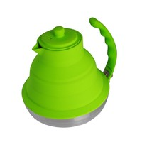 Better Houseware Collapsible Tea Kettle, Lime Green