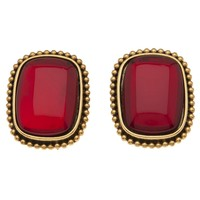 Yves Saint Laurent Vintage Framed Clip On Earring - Amarcord Vintage Fashion - Farfetch.com