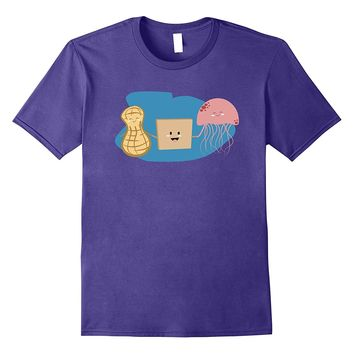 Peanut butter and Jelly Funny Jellyfish Tshirt