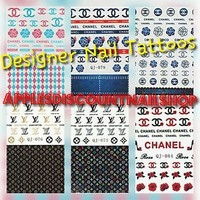 Nail Decals Water Tattoos. Designers Edition. 7 Different Designs. 1Sheet/lot