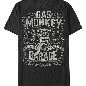 Black Monkey Whiskey Tee - Men's Regular