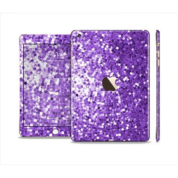 The Purple Shaded Sequence Full Body Skin Set for the Apple iPad Mini 3