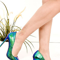 Mermaid Wishes Pumps