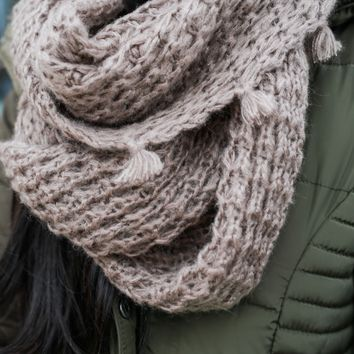 Simply Sweet Infinity Scarf