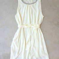 Meadow Grass Party Dress in Ivory [7025] - $42.00 : Feminine, Bohemian, & Vintage Inspired Clothing at Affordable Prices, deloom