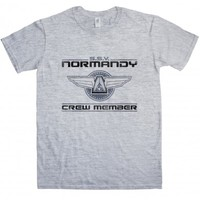 Inspired by Mass Effect t-shirt - Normandy