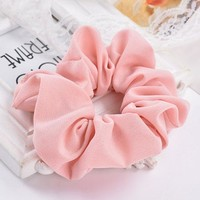 DCCKU62 LOVINGSHA 5pcs/lot 7 Colors Accesorios Pelo 2017 Women Hair Tie Scrunchie Ponytail Hair Holder Rope Hair Accessories CH008