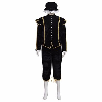 Custom Made Medieval Style Clothes Top Pants Hat Costume Cosplay