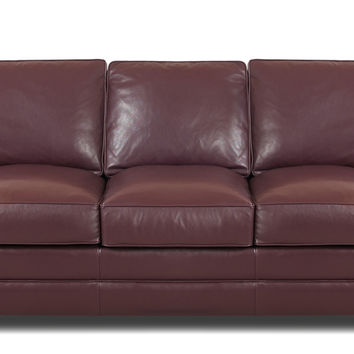 Leather Queen Sleeper Sofa Savvy Montreal