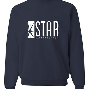Adult Star Labs Sweatshirt Crewneck By Go All Out®