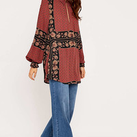 Free People Dobby Brick Tunic - Urban Outfitters