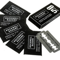 Rockwell Blades - Swedish Stainless Steel Double-Edge Razor Blades