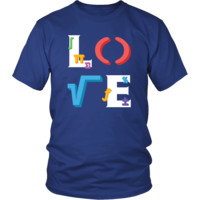 Mathematician - LOVE Mathematician  - Science Profession/Job Shirt
