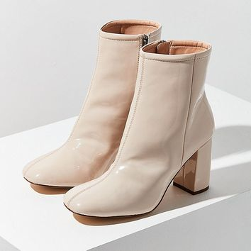 Sloane Seamed Patent Ankle Boot | Urban Outfitters