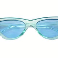 BB Blue 60's Glasses