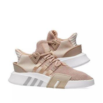 ADIDAS EQT BASK ADV Women Men Light Blue Sneakers Three Line Shoes B-CSXY Khaki