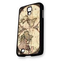 Vintage World Classic Map Samsung Galaxy S4