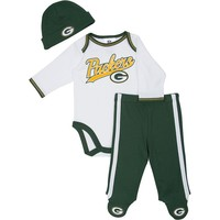 Green Bay Packers Bodysuit & Footed Pants Set - Baby