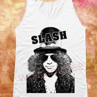 Slash Shirts Guns N' Roses Shirts Hard Rock Shirts Heavy Metal Shirt White Shirts Unisex Shirts Vest Tank Top Women Shirt Sleeveless Singlet