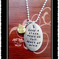 Johnny Cash Bullet Jewelry Pendant Unisex Necklace
