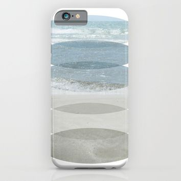 Beach Fragments iPhone & iPod Case by ARTbyJWP